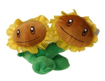 Plants Vs Zombies Sunflower Figure Toy (Green)