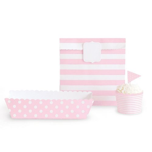 Paper Eskimo Party Decoration Kit, Vintage Pink front-979143