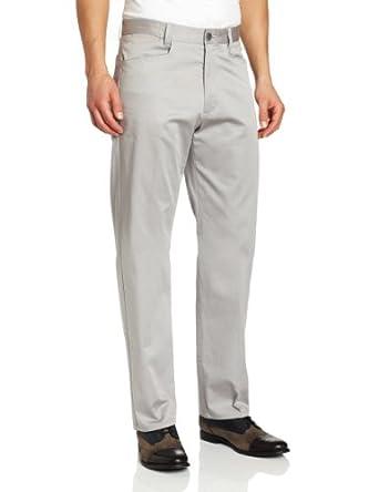 Calvin Klein Sportswear Men's Stretch Sateen Pant,  Concrete, 30W 30L