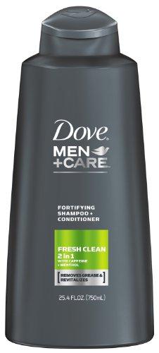 Dove Men+Care 2 in 1 Shampoo and Conditioner, Fresh Clean 25.4 oz (Jo Co Shampoo compare prices)