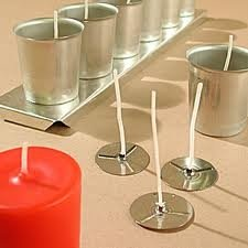 Votive Candle Wicks X 10 by The Norfolk Candle Company