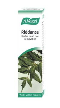 A.Vogel, Riddance Herbal Head Lice Removal Kit - 100ml