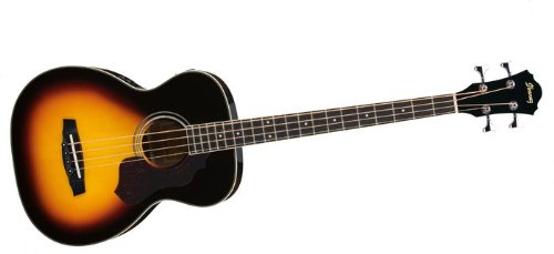 Ibanez SGBE110VS Sage Series Acoustic/Elec Bass in Vintage Sunburst