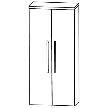 In Variado Medium Cupboard (MNA816A) Bathroom, 60cm
