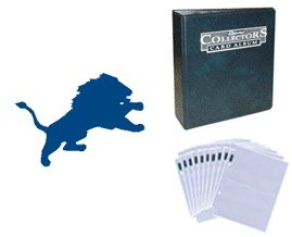 Detroit Lions Football Cards w  Collector
