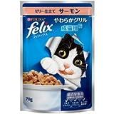 ネスレ ピュリナ 猫用ウェットフード フィリックス やわらかグリル 成猫用 1歳から ゼリー仕立て サーモン 70g