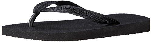 Havaianas Women's Top Sandal Flip Flop, black, 37 BR/7/8 W US