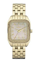 DKNY Glitz Mother-of-Pearl Dial Women's Watch #NY8338