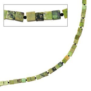 Jewelry Women Necklace Serpentine combined with onyx, about 46.5 cm long, closure 925 Silver