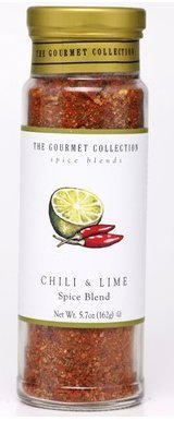 The Gourmet Collection, Chili & Lime Spice Blends (5.4 oz) (Chili Spice Blend compare prices)