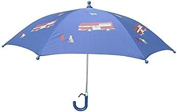 Foxfire for Kids Blue Fire Trucks Umbrella
