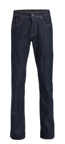 MAC Herren Jeans Hose Arne 0970l050100 H750 authentic dark blue, Farbe:H750 authentic dark blue;Größe:W35/L32