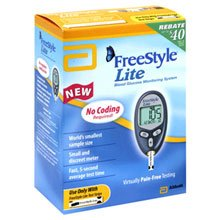Cheap FreeStyle Lite Blood Glucose Monitoring System (B000XXC3YK)