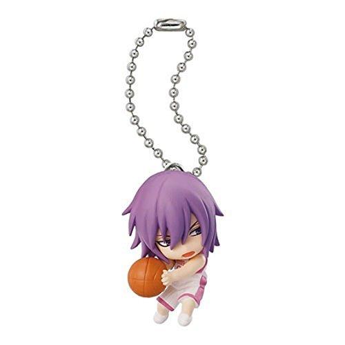 Bandai Kuroko No Basket Swing Figure Keychain~All star~Murasakibara Atsushi