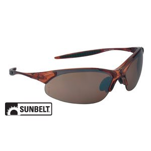 Amazon.com: SUNBELT- Safety Glasses, Cobra, Half Frame ...