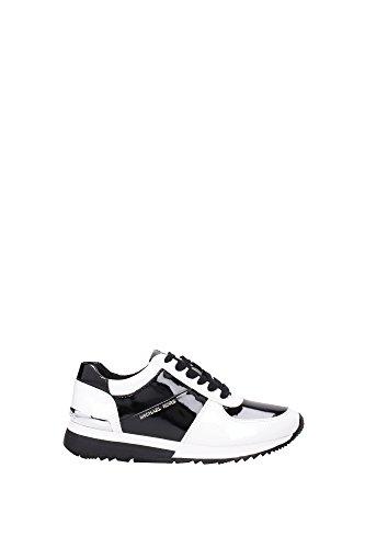 Sneakers Michael Kors Donna Vernice Bianco e Nero 43T5ALFP1AOPTICWHTBLK Bianco 39EU