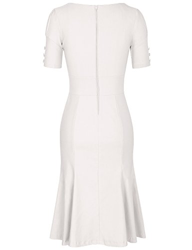 JUESE Women's 50s 60s Formal or Casual Party Pencil Dress 1