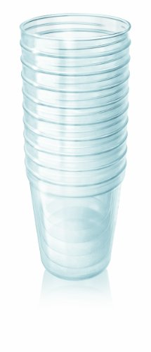 Philips AVENT SCF616/10 Vasetti VIA, capacità 240 ml (10 pezzi)