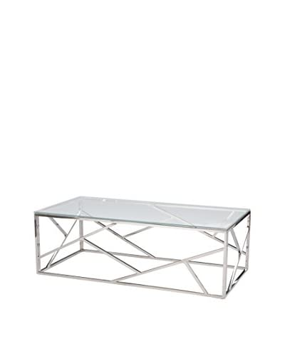 Baxton Studio Fiona Modern Coffee Table  [Steel]