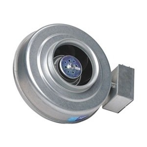 Centrifugal Inline Duct Fan, 8 In