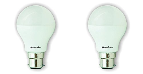 9W LED Bulbs (Cool White, Pack of 2)