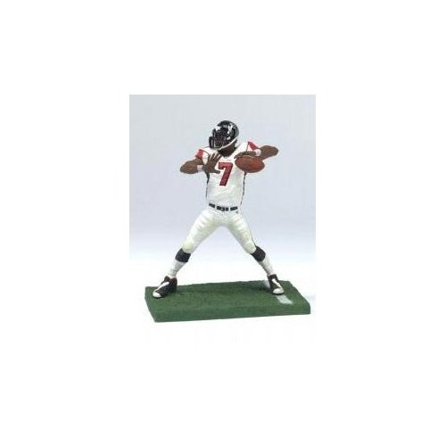 Michael Vick - Mcfarlane NFL 3 Inch Figure - Atlanta Hawks - 2nd Edition