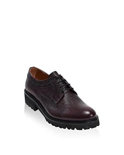 BRITISH PASSPORT Zapatos derby Plain Burdeos