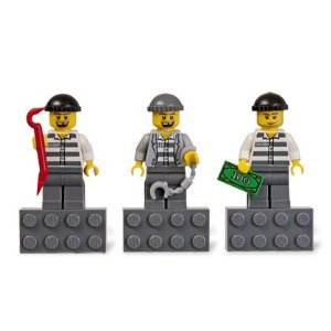LEGO City Burglars Magnet Set 853092 - 1