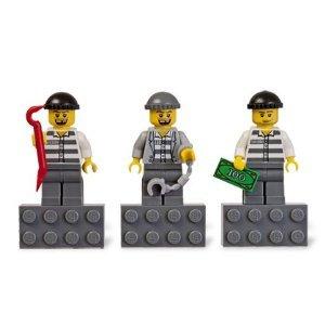 Lego City Burglars magnet set: Amazon.co.uk: Toys & Games