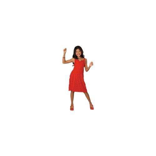 [Child LG (Size 12-14, 8-10 yrs)- Festive Gabriella HSM Dress] (Hsm Costumes)