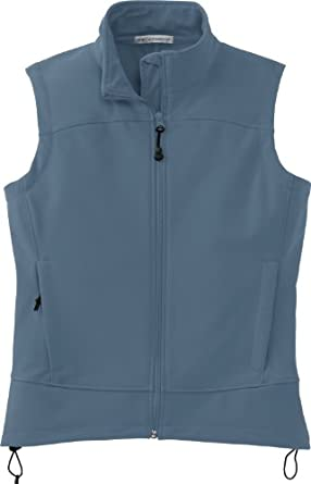 Port Authority Ladies Windproof and Waterproof Glacier Soft Shell Vest by Port Authority