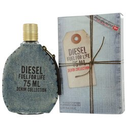 DIESEL FUEL FOR LIFE DENIM by Diesel MEN EDT SPRAY 2 5 OZ