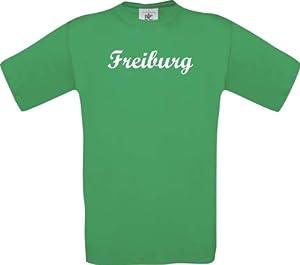 Shirtstown I LOVE FREIBURG City Style Deine Stadt kult, Größe: S- XXXL