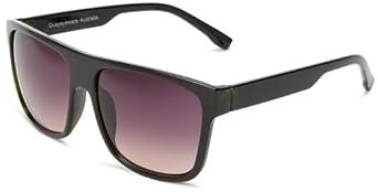Quay Eyewear Australia 1555 Wayfarer Sunglasses Navy One Size