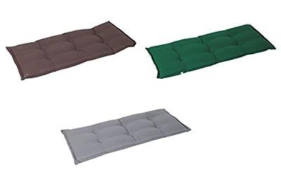 Bankauflage für 2-Sitzer in drei Farbvarianten von Benelando® bei Gartenmöbel von Du und Dein Garten