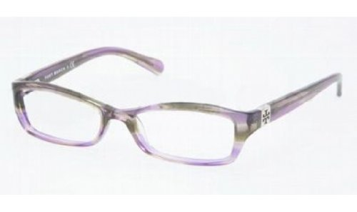 Tory Burch Tory Burch TY2010 Eyeglasses - 745 Purple Tortoise - 49mm