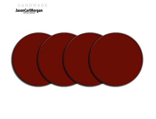 Telecommande JCM Jante en alliage Bouchon Badges pour SAAB FORD BMW (CLR 60 mm, bordeaux
