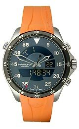Hamilton Khaki Pilot Flight Timer Quartz Men's watch #H64554431