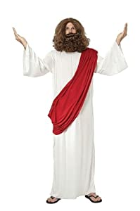 Jesus mens fancy dress costume