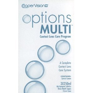Coopervision Options Multi Contact Lens Care Program 3 months supply