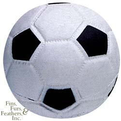 Pet Supply Imports Latex Soccer Ball 3 Inch