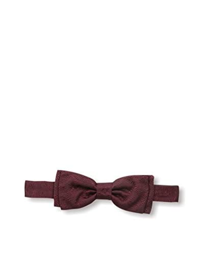 Nina Ricci Men's Patterned Bowtie, Burgundy