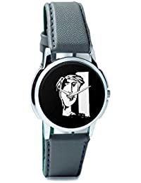 BigOwl The Composed Reality Painting Analog Men's Wrist Watch 2115074526-RS1-W-GRY