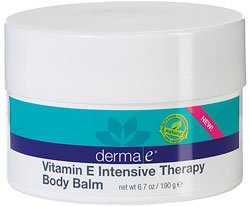 Derma E Vitamin E Intensive Therapy Body Balm, Aqua, 6.7 Ounce