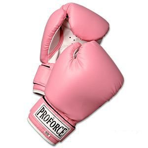 Amazon.com : ProForce Leatherette Boxing Gloves with White Palm