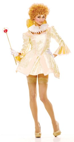 Paper Magic Womens French Kiss Royal Majesty Costume