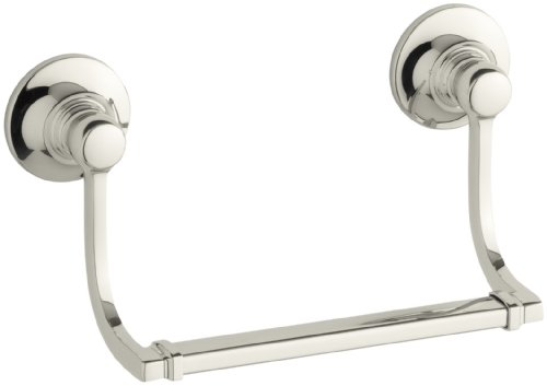 Kohler K-11416-SN Bancroft Hand Towel Holder, Vibrant Polished Nickel