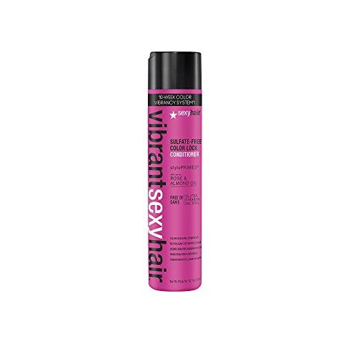 sexyhair Vibrant Color Lock Conditioner 300ml Protezione ottimale speciali per capelli colorati