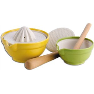 Joyce Chen Products #73-2009 Mortar/Pestl/Juicer Set