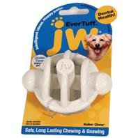 Jw Pet Company 46120 Evertuff Roller Chew Toys For Pets, Medium, White